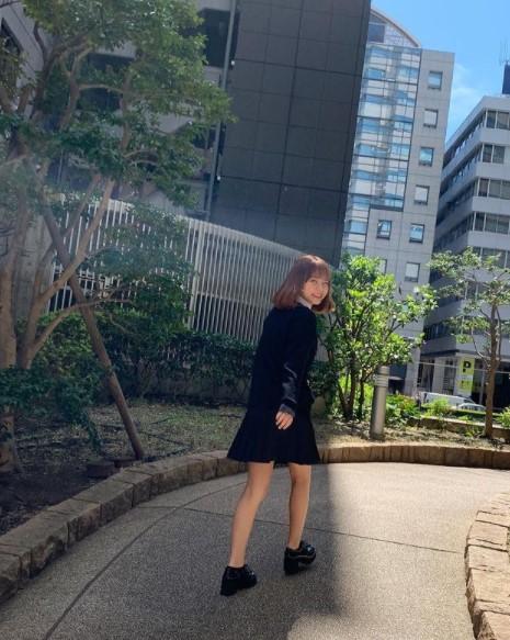 岩隈久志さんの娘が高校へ入学したとき