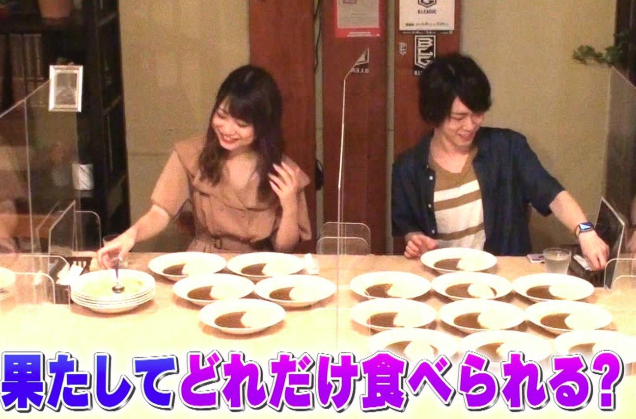 中澤莉佳子の大食い番組
