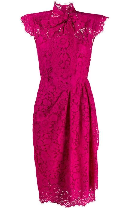 Dolce & Gabbanaのレースのドレス