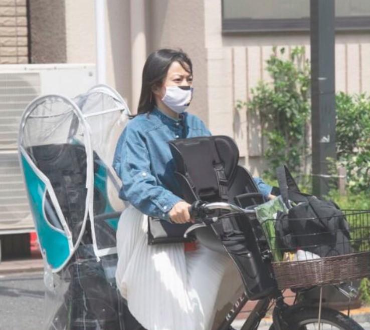 菅野美穂のプライベートの自転車