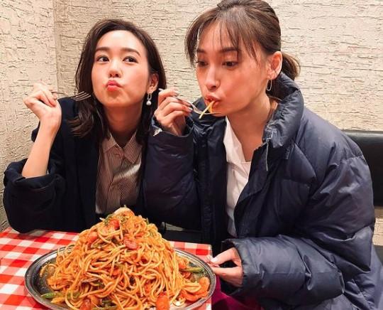 桐谷美玲と大政絢