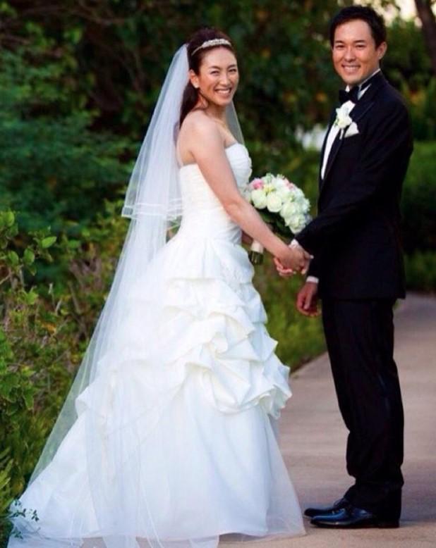 杉山愛の結婚式