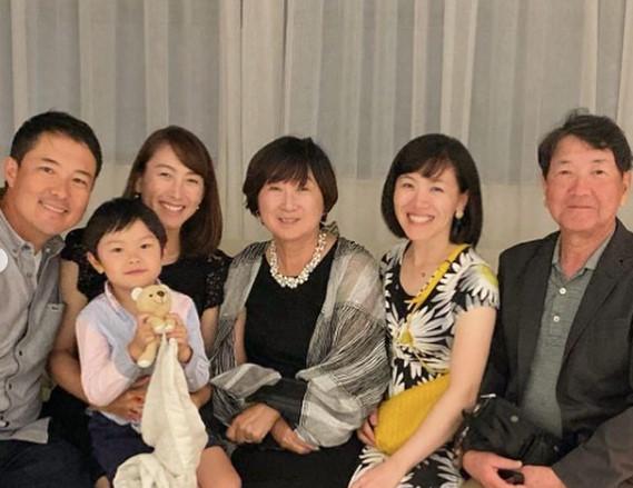 杉山愛の家族
