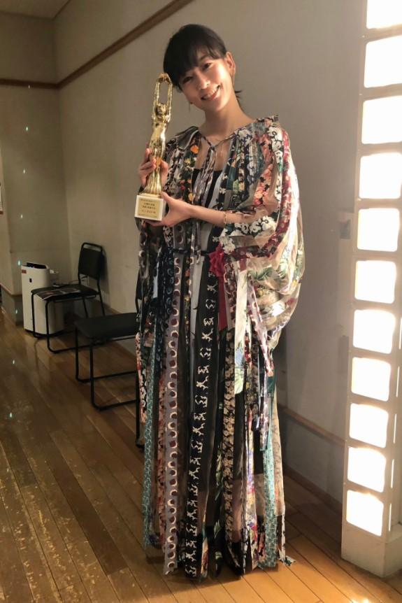 水川あさみが毎日映画コンクールで主演女優賞を受賞したとき