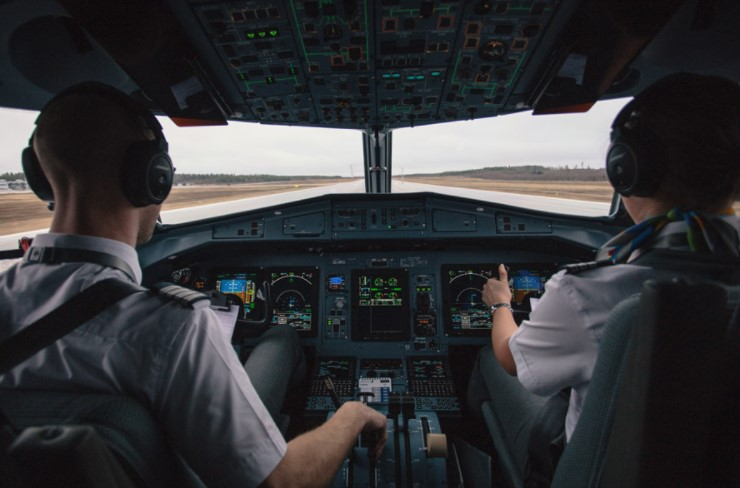 パイロットの画像