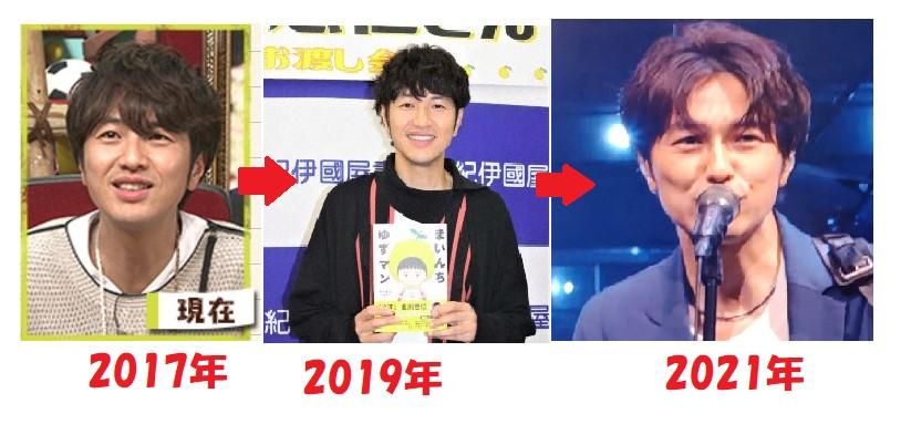 北川悠仁の画像の比較