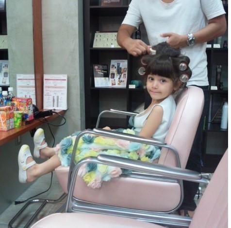 佐田真由美の娘