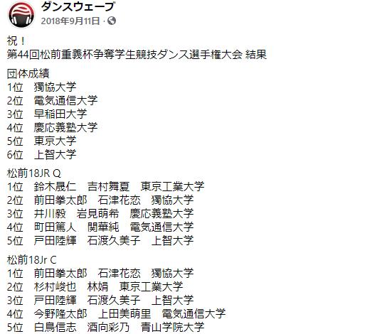前田拳太郎の大学