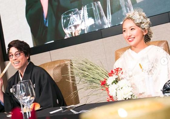 金本かすみの結婚式で新郎がサプライズしたところ