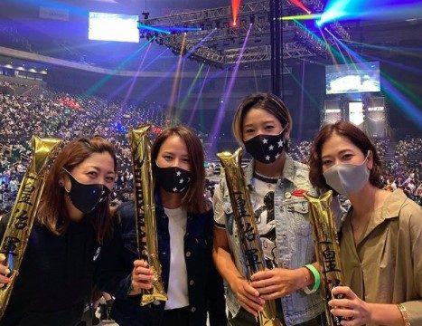 2020年9月27日に森田理香子がRIZINを観戦
