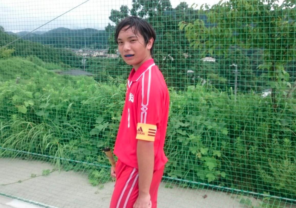 宇野樹bが高校時代にホッケーで愛知県代表に選ばれたとき